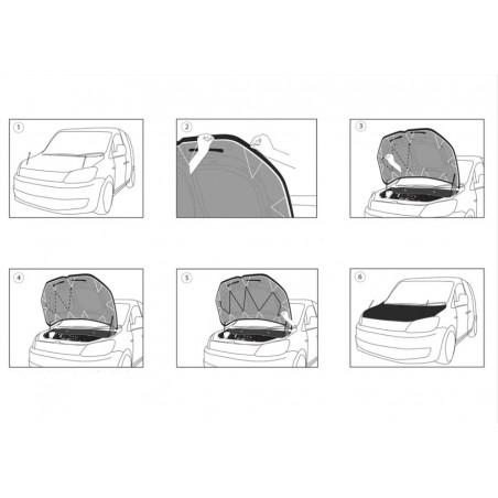 Huse scaune auto MERCEDES C-Klasse W204 2007-2014 PREMIUM LUX (Negru M01)