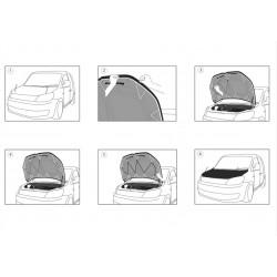 Kit distantiere VW Golf VI 2008-2012 (4 distantiere + 20 prezoane + 4 inele ghidaj)