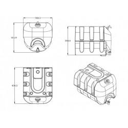 Huse scaune auto dedicate MERCEDES Sprinter I 1995-2006 (2+1) ( 45926 )