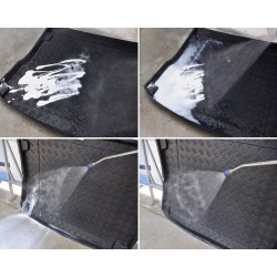 Folie protectie faruri/stopuri albastra 10m x 0.60m