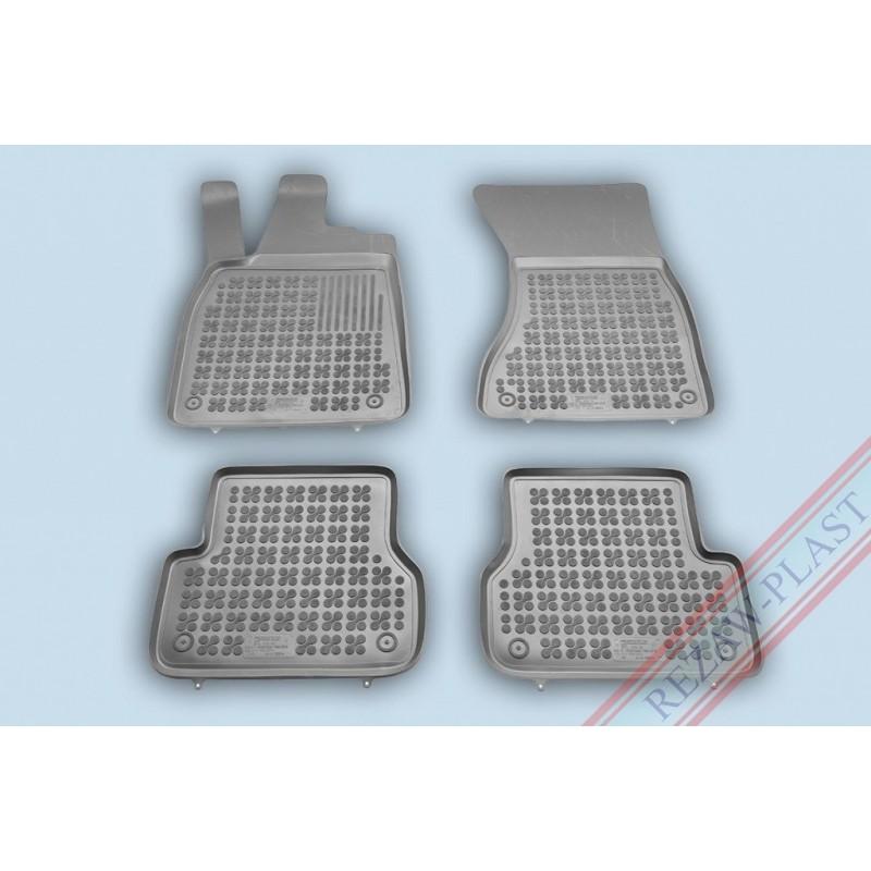 Covoare dedicate AUDI A6 C7 2012-2018 - tip tavita - gri - REZAW PLAST